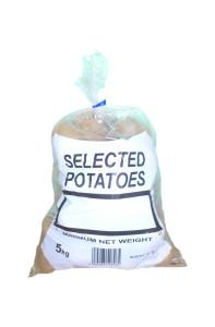 5kg Polythene Potato Bag