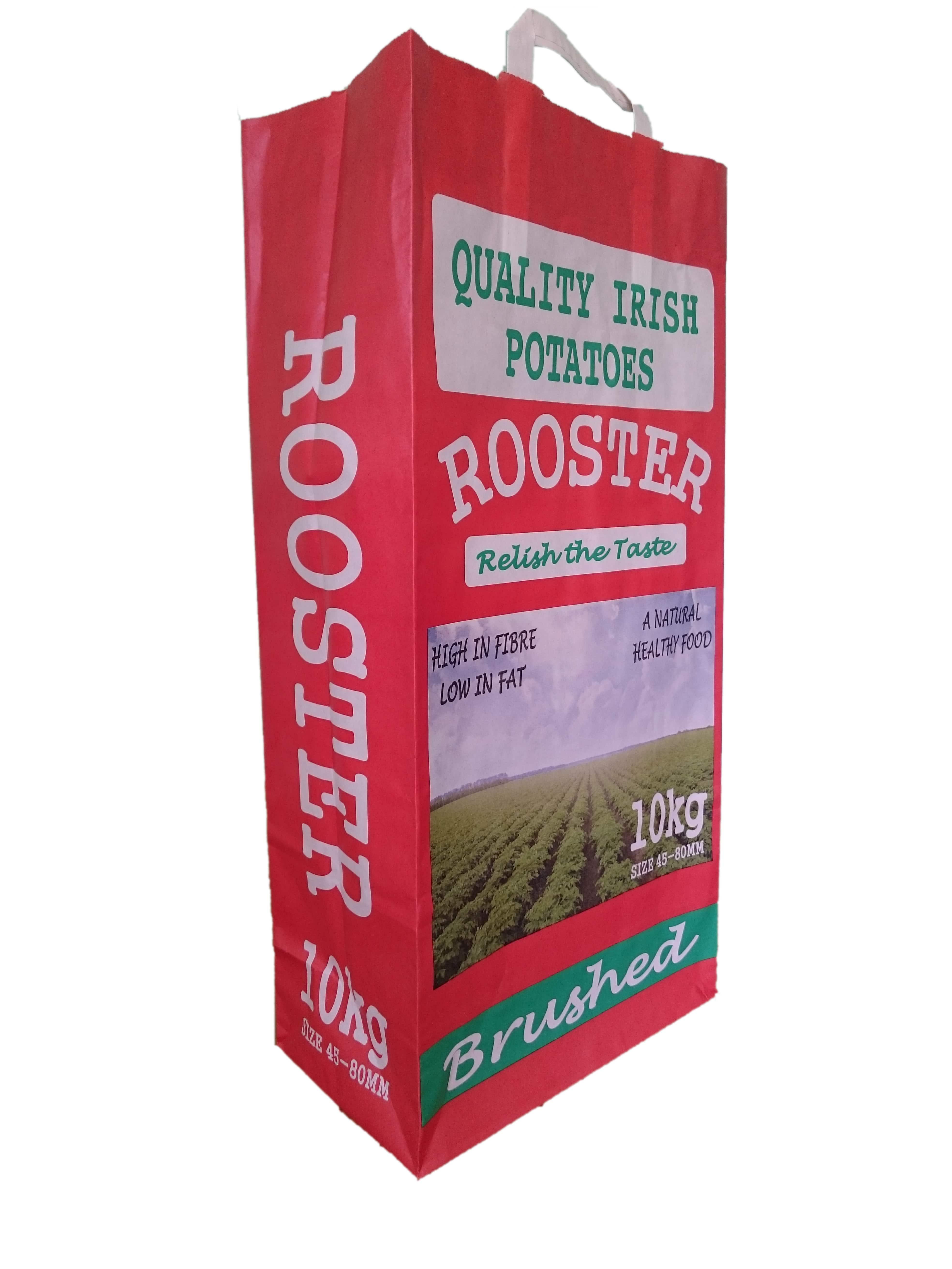 Block Bottom Brushed Rooster
